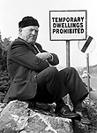 Kerry County Councillor Jackie Healy-Rae  is known to be very stubborn on certain issues. (1988).<br />Picture by Don MacMonagle