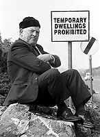 Kerry County Councillor Jackie Healy-Rae  is known to be very stubborn on certain issues. (1988).<br />
