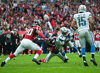 26.10.2014.  London, England.  NFL International Series. Atlanta Falcons versus Detroit Lions. Lions' WR Ryan Broyles [84] in action.