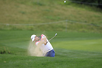 Ryan McCarthy (AUS) in a bunker on the 5th fairway during Round 1 of the D+D Real Czech Masters at the Albatross Golf Resort, Prague, Czech Rep. 31/08/2017<br /> Picture: Golffile | Thos Caffrey<br /> <br /> <br /> All photo usage must carry mandatory copyright credit     (&copy; Golffile | Thos Caffrey)