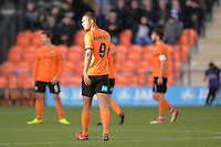 Byron Harrison Of Barnet during Barnet vs Bristol Rovers, Emirates FA Cup Football at the Hive Stadium on 11th November 2018