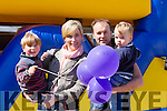 Enjoying the BALLYSEEDY Garden Centre Fun Weekend in aid of Downs Syndrome on Saturday were Colm Duffy,Jill Duffy,Adam Duffy and Joshua Duffy from Fenit