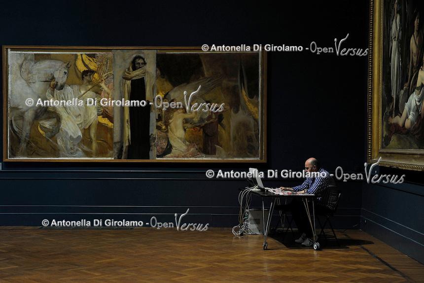 Galleria Nazionale di Arte Moderna di Roma. The National Gallery of Modern and Contemporary Art.