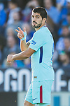 Luis Alberto Suarez Diaz of FC Barcelona celebrates after scoring his goal during the La Liga 2017-18 match between CD Leganes vs FC Barcelona at Estadio Municipal Butarque on November 18 2017 in Leganes, Spain. Photo by Diego Gonzalez / Power Sport Images