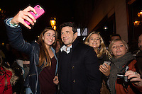 Patrick Bruel arrives at the world movie Premiere of ' Ange & Gabrielle ' - EXCLU - Belgium