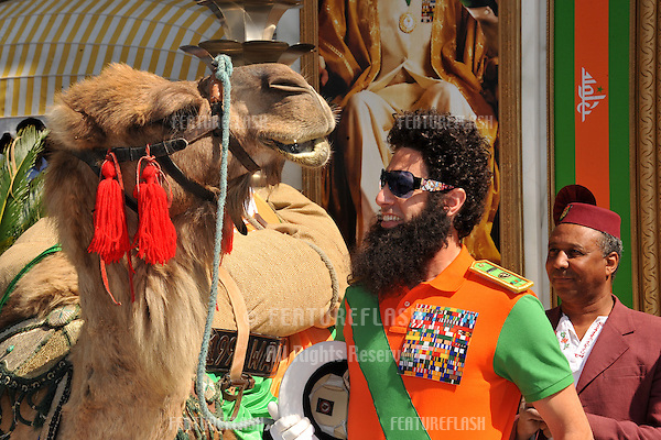"Sacha Baron Cohen promoting his latest movie ""The Dictator"" in front of the Carlton Hotel at the 65th Festival de Cannes..May 16, 2012  Cannes, France.Picture: Paul Smith / Featureflash"