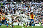 Real Madrid´s Cristiano Ronaldo during 2014-15 La Liga match between Real Madrid and Valencia at Santiago Bernabeu stadium in Madrid, Spain. May 09, 2015. (ALTERPHOTOS/Luis Fernandez)