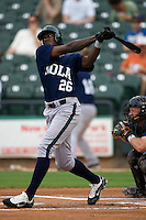 Maybin, Cameron 3024.jpg.  PCL baseball featuring the New Orleans Zephyrs at Round Rock Express  at Dell Diamond on June 19th 2009 in Round Rock, Texas. Photo by Andrew Woolley.