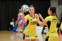 Pulse&rsquo; Elle Temu, Netball Pre Season Tournament - Pulse v Stars at Ngā Purapura, Otaki, New Zealand on Saturday 9 February  2019. <br />