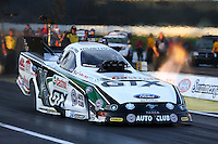 May 31, 2013; Englishtown, NJ, USA: NHRA funny car driver John Force during qualifying for the Summer Nationals at Raceway Park. Mandatory Credit: Mark J. Rebilas-
