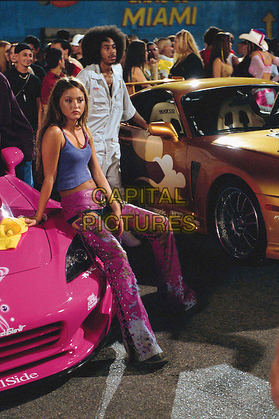 "Suki (DEVON AOKI) and Tej (CHRIS ""LUDACRIS"" BRIDGES) in 2 Fast 2 Furious..Film Title: 2 Fast 2 Furious..Filmstill - Editorial Use Only.Ref: FB.sales@capitalpictures.com.www.capitalpictures.com.Supplied by Capital Pictures."