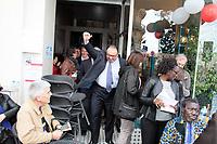 PATRICK MENNUCCI - LANCE SA CAMPAGNE POUR LES ELECTIONS LEGISLATIVES A MARSEILLE . FRANCE , LE 10/05/2017