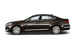 Driver side profile view of a 2014 KIA Cadenza Sedan