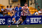 Sunderland vs HKFC Captain's Select during the Day 2 of the HKFC Citibank Soccer Sevens 2014 on May 24, 2014 at the Hong Kong Football Club in Hong Kong, China. Photo by Victor Fraile / Power Sport Images
