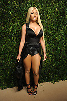 NEW YORK, NY - NOVEMBER 6: Nicki Minaj at the 14th Annual CFDA Vogue Fashion Fund Gala at Weylin in Brooklyn, New York City on November 6, 2017. Credit: John Palmer/MediaPunch /NortePhoto.com