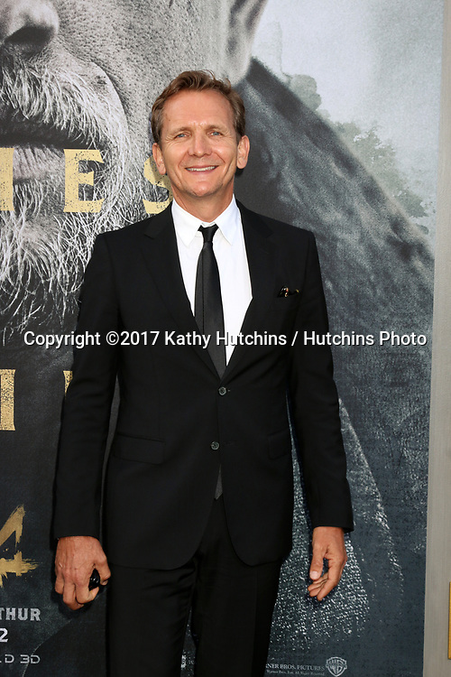"""LOS ANGELES - MAY 8:  Sebastian Roche at the """"King Arthur Legend of the Sword"""" World Premiere on the TCL Chinese Theater IMAX on May 8, 2017 in Los Angeles, CA"""