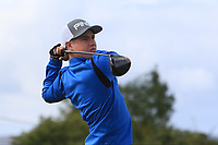 Eoin Freeman (Naas) on the 14th tee during the Final round in the Connacht U16 Boys Open 2018 at the Gort Golf Club, Gort, Galway, Ireland on Wednesday 8th August 2018.<br /> Picture: Thos Caffrey / Golffile