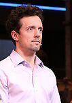 Jason Mraz starring in Broadway's 'Waitress' at the Brooks Atkinson Theatre on January 16, 2018 in New York City.