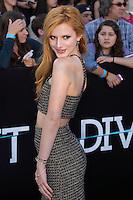 "WESTWOOD, LOS ANGELES, CA, USA - MARCH 18: Bella Thorne at the World Premiere Of Summit Entertainment's ""Divergent"" held at the Regency Bruin Theatre on March 18, 2014 in Westwood, Los Angeles, California, United States. (Photo by Xavier Collin/Celebrity Monitor)"