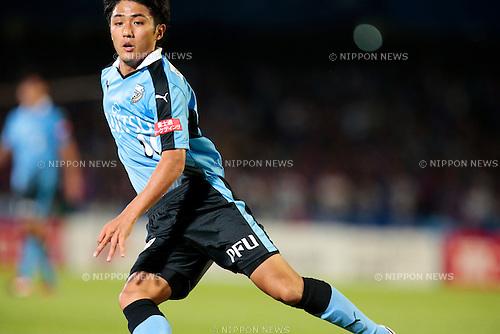 Ryota Oshima (Frontale), <br /> JULY 11, 2015 - Football / Soccer : <br /> 2015 J1 League 2nd stage match <br /> between Kawasaki Frontale 2-0 F.C. Tokyo <br /> at Kawasaki Todoroki Stadium, Kanagawa, Japan. <br /> (Photo by AFLO SPORT)