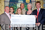 Cheque Pres to Ballylongford NS   Copyright Kerry's Eye 2008
