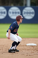 Phil Caufield (1) of the Loyola Marymount Lions runs the bases during a game against the Washington State Cougars at Page Stadium on February 26, 2017 in Los Angeles, California. Loyola defeated Washington State, 7-4. (Larry Goren/Four Seam Images)