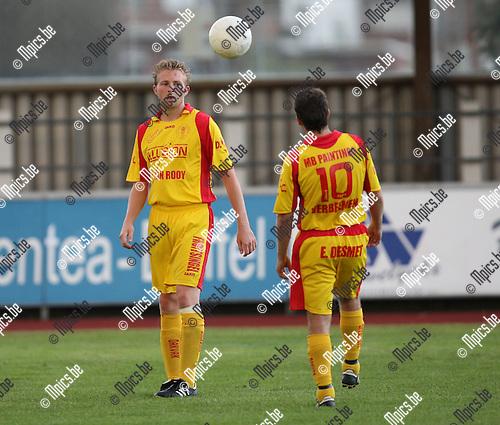 2007-08-15 / Voetbal / KFC Duffel / Simon Vergaelen