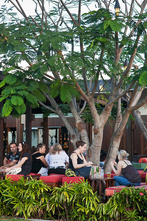 Salt House Restaurant and Bar.  Marina Point, Cairns, Queensland, Australia