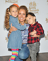 Jasmine Harman and her kids at the &quot;Elf Pets: Santa's St. Bernard's Save Christmas&quot; VIP screening, Picturehouse Central, Corner of Shaftesbury Avenue, London, England, UK, on Sunday 04 November 2018.<br /> CAP/CAN<br /> &copy;CAN/Capital Pictures