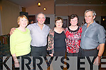 Dancing the night away at the Ring of Kerry for CUH were l-r; Noreen O'Sullivan, Gerry O'Sullivan, Bridie Falvey, Mary & Dan O'Sullivan.