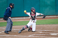 Stanford, CA, April 11, 2014. Stanford Softball vs. University of Washington. Stanford won 13-5.