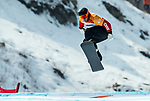 PyeongChang 12/3/2018 - Alex Massie during the snowboard cross competition at the Jeongseon Alpine Centre during the 2018 Winter Paralympic Games in Pyeongchang, Korea. Photo: Dave Holland/Canadian Paralympic Committee