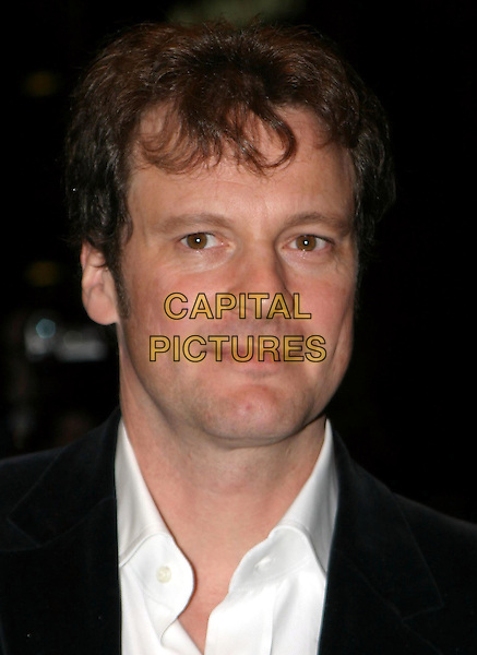 COLIN FIRTH  .Girl With A Pearl Earring - The Times Gala .Screening, Odeon West End.portrait, headshot.www.capitalpictures.com.sales@capitalpictures.com.© Capital Pictures.