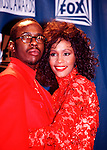 Bobby Brown and Whitney Houston 1993.© Chris Walter.