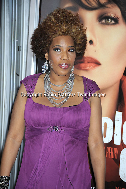 "Macy Gray attending The New York Special Screening.of ""For Colored Girls"" at The Ziegfeld Theatre on October 25, 2010 in New York City"