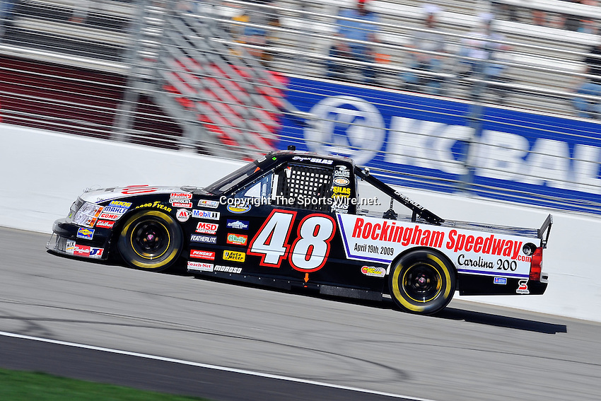 Mar 07, 2009; 2:36:07 PM; Hampton, GA, USA; NASCAR Camping World Truck Series race for the American Commercial Lines 200 at the Atlanta Motor Speedway.  Mandatory Credit: (thesportswire.net)