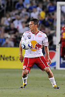 Seth Stammler...Kansas City Wizards were defeated 3-0 by New York Red Bulls at Community America Ballpark, Kansas City, Kansas.