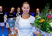 Alphen aan den Rijn, Netherlands, December 16, 2018, Tennispark Nieuwe Sloot, Ned. Loterij NK Tennis, Womans  Single winner:  Lesley Kerkhove (NED)<br /> Photo: Tennisimages/Henk Koster