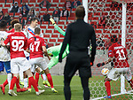 08.11.18 Spartak Moscow v Rangers: Rangers hit the post in the last minute