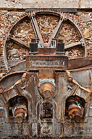 Machinery used at the Reef Bay Plantation Sugar Mill at the bottom of the Reef Bay trail.<br /> Virgin Islands National Park<br /> St. John, U.S. Virgin Islands