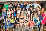 Happy Birthday - Amy Mansfield from Caherslee, seated centre having a ball with friends and family at her 18th birthday bash held in The Abbey Inn on Saturday night.