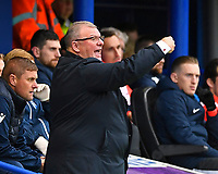 Gillingham Manager Steve Evans issues instructions during Portsmouth vs Gillingham, Sky Bet EFL League 1 Football at Fratton Park on 12th October 2019