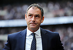 Swansea City Manager Paul Clement during the premier league match at the Wembley Stadium, London. Picture date 16th September 2017. Picture credit should read: Robin Parker/Sportimage
