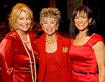 Jan Carson, Rita Moreno and Ilene Allen at the American Heart Association Go Red for Women luncheon at the InterContinental Houston Monday May 04,2009.  (Dave Rossman/For the Chronicle)