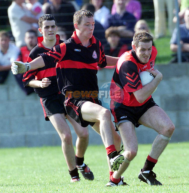 Action from the Dreadnots V St. Kevins in Ardee on Sunday..Picture Paul Mohan Newsfile