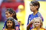 (L-R) Nahomi Kawasumi, Saki Kugagai (JPN), JUNE 23, 2015 - Football / Soccer : <br /> FIFA Women's World Cup Canada 2015 round 16 match Japan 2-1 Netherlands at BC Place, Vancouver, Canada. (Photo by Yusuke Nakanishi/AFLO SPORT)