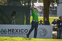 Hideki Matsuyama (JPN) watches his tee shot on 7 during round 1 of the World Golf Championships, Mexico, Club De Golf Chapultepec, Mexico City, Mexico. 2/21/2019.<br /> Picture: Golffile | Ken Murray<br /> <br /> <br /> All photo usage must carry mandatory copyright credit (© Golffile | Ken Murray)