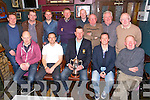 Member's of the Old Reserve golf society having a great time their Gathering party at the Greyhound bar, Tralee on Saturday.Pictured front l-r Seamus Cronin Richard Greere Colm Sheehy, Mike Leahy, Brian Neenan, Back l-r Declan O'Connell Jimmy Sugrue ,Padraig Teahan, Gene Kelly , Jonathan Goodall, John O'Connell,  PJ Murphy, Joe Mulcahy