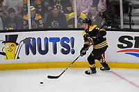 June 12, 2019: Boston Bruins defenseman Charlie McAvoy (73) in action during game 7 of the NHL Stanley Cup Finals between the St Louis Blues and the Boston Bruins held at TD Garden, in Boston, Mass.  The Saint Louis Blues defeat the Boston Bruins 4-1 in game 7 to win the 2019 Stanley Cup Championship.  Eric Canha/CSM.