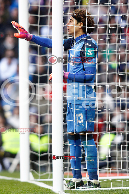Granada CF's Guillermo Ochoa during La Liga match. January 7,2016. (ALTERPHOTOS/Acero) . NORTEPHOTO.COM